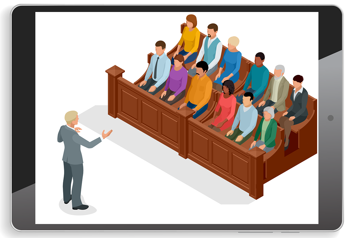 2021 Mock Trial Illustration