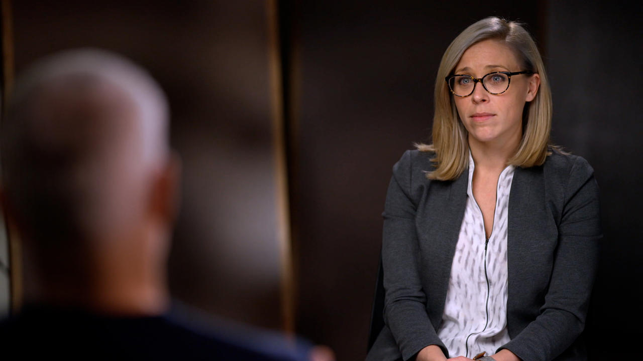 Dayna McCarthy '05 on 60MINUTES